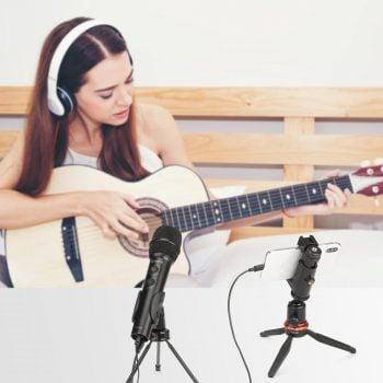 boya by-hm2 professionele handmicrofoon smartphone