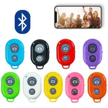mojogear bluethooth shutter remote afstandsbediening selfie foto smartphone mg-02 kleuren