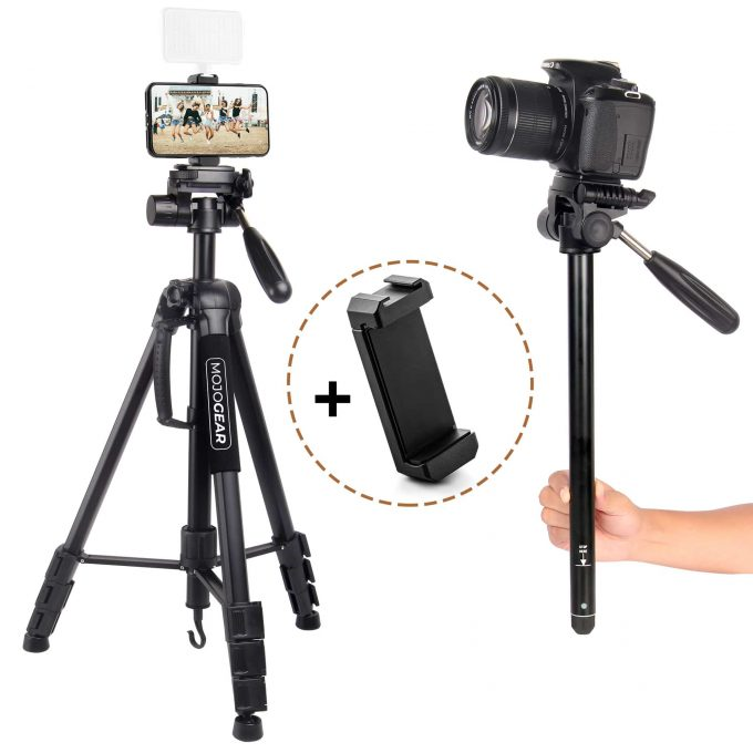 MOJOGEAR MG-24 2-in-1 statief 177cm hoofdfoto