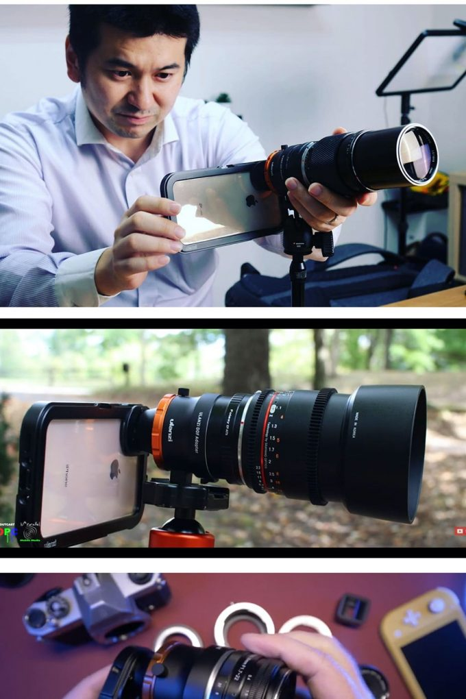 Ulanzi DOF Depth of Field-adapter usecases smartphone lens