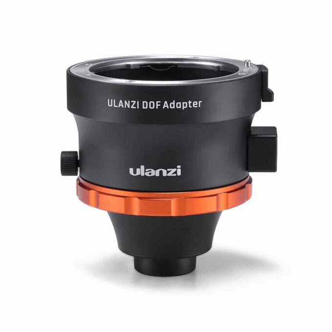 Ulanzi DOF Depth of Field-adapter voorkant smartphone lens