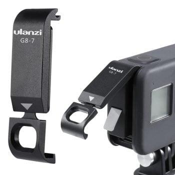 Ulanzi G8-7 batterijklep GoPro Hero 8 opladen tijdens filmen