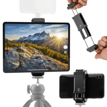 Fotopro ID-100+ Telefoonhouder en tablet houder voor statief