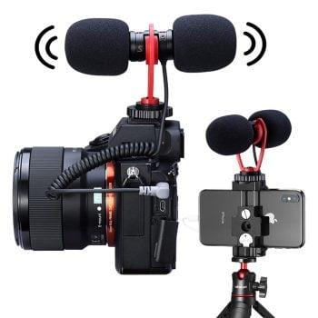 Sairen T-Mic dual head microfoon mic hoofdfoto camera telefoon