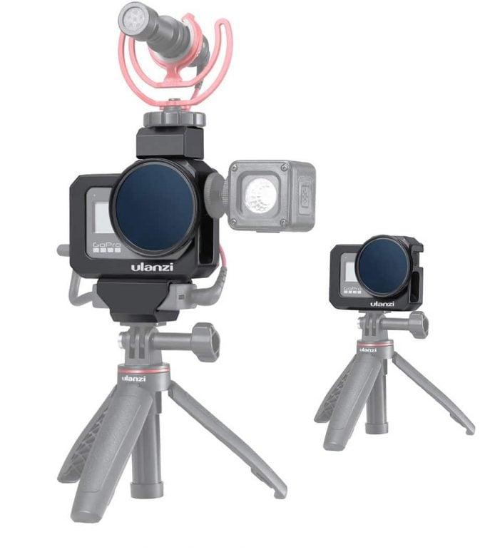 Ulanzi G8-5 GoPro 8 Vlog Cage accessoires wide