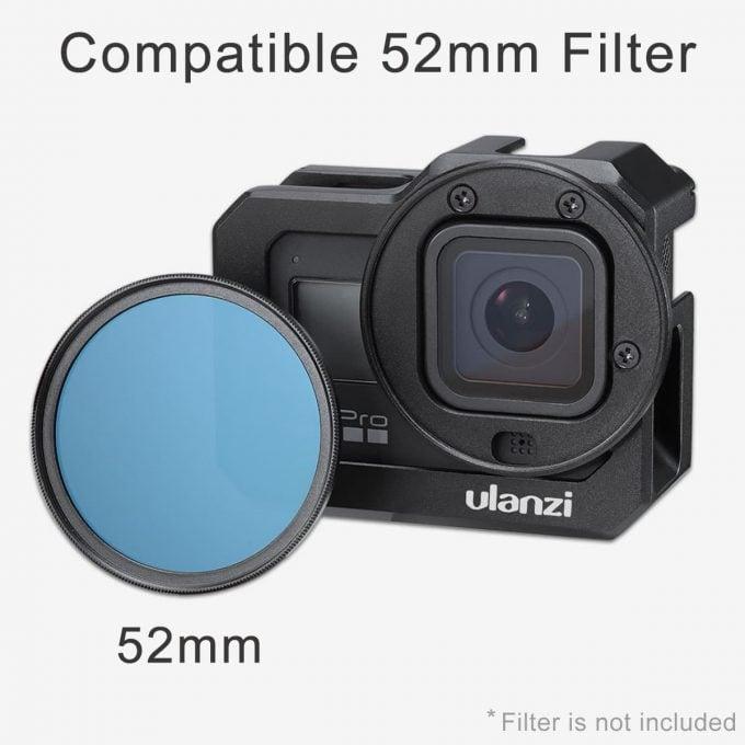 Ulanzi G8-5 GoPro 8 Vlog Cage filter compatible