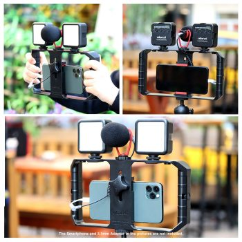 Ulanzi Smartphone Filmmaking Kit split