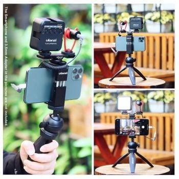 Ulanzi Smartphone Vlog Kit 5 Extra collage