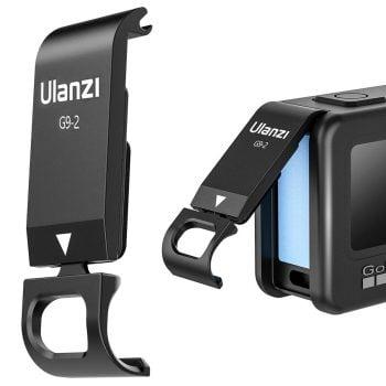 Ulanzi G9-2 batterijklep GoPro Hero 9 opladen tijdens filmen hoofdfoto
