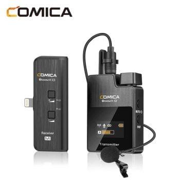 Comica BoomX-D MI1 voor iPhone:iPad met speldmicrofoon
