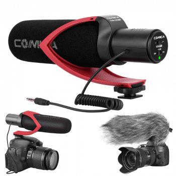 Comica CVM-V30-Pro-richtmicrofoon-camera