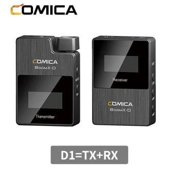 Comica microfoon BoomX-D D1 toepassingen