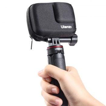 Ulanzi G9-8 opberghoes voor GoPro Hero 9 Black in hand statief