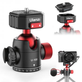 Ulanzi U-100 premium statiefkop met balhoofd