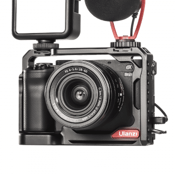 Ulanzi camera cage voor Sony A7C close-up