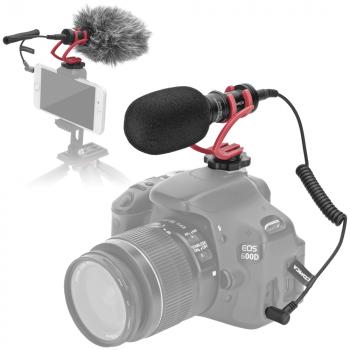 Comica CVM-VM10 II richtmicrofoon voor smartphone en camera