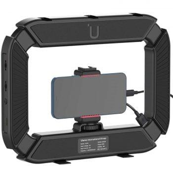 Ulanzi U-200 ringlamp Rig voor videobellen powerbank