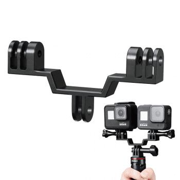 Dual GoPro Mount voor statief of handvat - Ulanzi GP-7